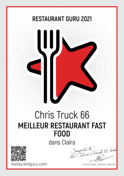 Meilleur restaurant fast food 2021